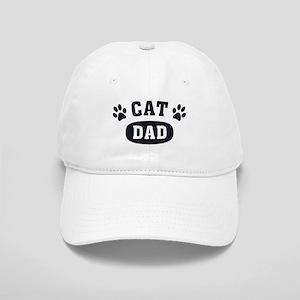Cat Dad [b/w] Cap